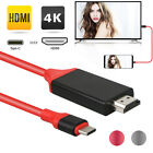 Kyпить For Samsung Galaxy Note 8 Note 9 Type-C USB-C to HDMI HDTV 4K Cable Adapter на еВаy.соm