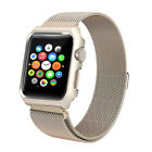 Luxury Stainless Steel Mesh Band Strap Bracelet for Apple Watch Series 4/3/2/1