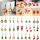 Fashion Christmas Jewelry Crystal Rhinestone Earrings Womens Charm Jewelry Hot