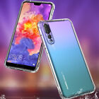 STRONG CLEAR GEL CASE COVER FOR HUAWEI PHONES SHOCK PROOF BUMPERS CORNERS