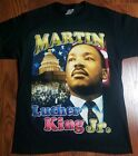 MARTIN LUTHER KING JR. MLK T SHIRT NEW RAP TEE Vintage 90s. image