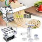 Pasta Maker Roller Machine Fresh Noodle SpaghettiFettuccine Stainless Steel USA