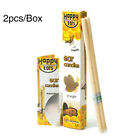 2/10Pcs Hopi Ear Candling Natural Beeswax Excellent Quality Wax Candles US