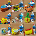McDonalds Happy Meal Toy 2002 Plastic SMURFS Plush Characters - VARIOUS