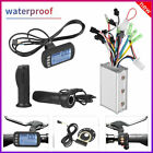 250W/350W Brushless Motor Controller LCD Panel Kit for E-bike Electric Bicycle