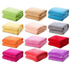 50x65cm Kids Baby Super Soft Fleece Blanket Towel Warm Throw Rug Sofa Gift US image