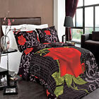 King/CalKing 3-PC Hayden 100% Combed Cotton Super Soft Printed Duvet Cover Sets  image