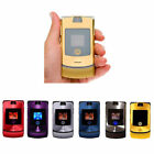 Retro Motorola Razr V3i GSM Unlocked Worldwide International Flip Mobile Phone