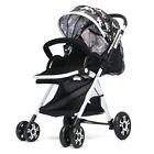 Adjustable Baby Stroller Pushchair Foldable Buggy Lightweight Jogger Travel  US