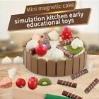 1PC Toy Cake Cutting Cute Birthday Playset Cake for Kids Gifts Toddlers Children