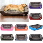 Warm Pet Dog Large Bed Cushion Kennel Cat Mat Sleeping Blanket Winter Pad US