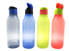 Tupperware Triangle Quencher Water Drink Bottle Flip Top 750ml On The Go.