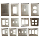 GlideRite Brushed Nickel Light Switch Cover  Duplex Outlet Wall Plates