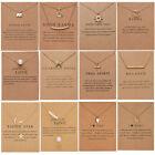 Kyпить Fashion Women Animal Heart Necklace Charms Pendant Clavicle Chain Jewelry Card на еВаy.соm
