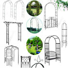 Heavy Duty Metal Garden Arch Path Archway Flower Climbing Plant Wedding Arch New
