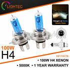 LAND ROVER DISCO H4 100W HID WHITE XENON HALOGEN BULBS 12V DIPPED MAIN UPGRADE