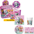 PAW PATROL Skye & Everest - PINK GIRLS Birthday Party Range Tableware Supplies