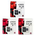 Kingston 8GB 16GB 32GB MicroSD Micro SD Class 4 C4 Karte Card SPEICHERKARTE JAN