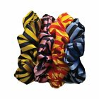 Equetech Broad Stripe Hair Womens Accessory Scrunchie - Red Gold One Size