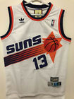 NWT Steve Nash 13 Phoenix Suns White Throwback Swingman Stitched Men's Jersey