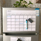 Внешний вид - MAGNETIC DRY ERASE CALENDAR Board Wall Monthly Time Planner Whiteboard s!