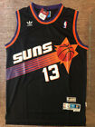 NWT Steve Nash 13 Phoenix Suns Black Throwback Swingman Stitched Men's Jersey
