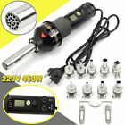 Durable 450W 220V LCD Display Easy Hot Air Heat Gun Soldering Station  9XNozzle