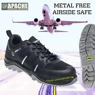 Apache Orion Safety Trainer Composite Toecap Shoes Metal Free UK Sizes 3-13