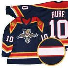 Florida Panthers 10 Pavel Bure Throwback MENS Hockey Jersey Embroidery Stitche