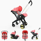 Portable Newborn Baby Stroller 3 in 1 Car Safety Seat Stroller With Accesories,