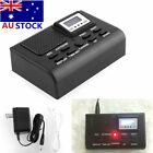 New Digital Telephone Call Phone Voice Recorder LCD Display w/ SD Card Slot XL