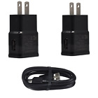 For Samsung Galaxy S8+ S9+ Note9 8 Cell Phone Charger Car/Wall Plug Type-C Cable