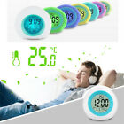 7 Color Changing LED Digital Alarm Clock Snooze Home Decor For Boys Girls Gifts