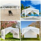 10'X 10' Canopy Outdoor Garden Gazebo Wedding Party Tent Pavilion W/Wall Upgrade
