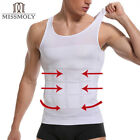 Men's Compression Vest Tank for Man Boobs Moobs Gynecomastia Shirt Chest Shaper <br/> Men's Ultra Lift Black & White Undershirt HOT!