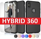 Case for iPhone 8 7 6S 6 Plus XS MAX XR Cover New ShockProof 360 Hybrid Case