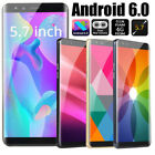 """S9 5.7"""" Smart Cell Phone Dual Sim Android 6.0 3g Mobile Wifi Gps Unlocked Cheap"""