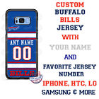 BUFFALO BILLS FOOTBALL JERSEY PHONE CASE COVER FOR iPHONE SAMSUNG etc NAME # $26.98 USD on eBay