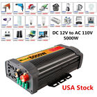 2000/4000/6000/12000W Car Power Inverter DC 12V to 110V Sine Wave Converter US