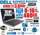 DELL 15.6 LED CORE i7 TURBO 3.6GHz LAPTOP w/ 8-16GB+NEW 480GB SSD+HDMI+NOTEBOOK+