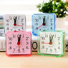 Portable Travel Alarm Clock - 4 Colors / Durable / Battery Powered / Small Size