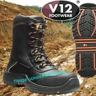 V12 Defiant IGS Safety Work Boots High Leg Zip Side V12E1300 Oil/Gas Industry