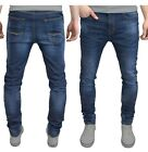 Mens Slim Fit Jeans Super Stretch Denim Pants Slim Skinny Casual Designer Jeans фото