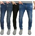 Внешний вид - Mens Slim Fit Jeans Super Stretch Denim Pants Slim Skinny Casual Designer Jeans