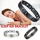 Unisex Therapeutic Energy Healing Bracelet Stainless Steel Magnetic Bracelet
