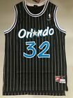 Shaquille O'Neal Orlando Magic Black Striped Throwback Stitched Jersey Men S-XXL on eBay