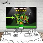 Teenage Mutant Ninja Turtles Photography Backdrop Cartoon Children Birthday