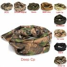 Camouflage Scarf Face Veil Cover Wrap Headscarf Army Sniper Neckerchief Hunting