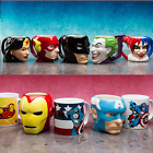 DC Comics Coffee Cups Mugs Sculpted Face 3D Ceramic Mug Serie Batman image