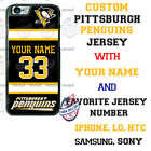 PITTSBURGH PENGUINS HOCKEY PHONE CASE COVER NAME/ # FOR iPHONE SAMSUNG LG GOOGLE $18.98 USD on eBay